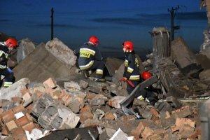 Zawalenie budynku w Koszalinie