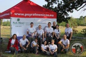 Egzaminy psów ratowniczych w Żaganiu zakończone dużym sukcesem  (12/14.09.2016)