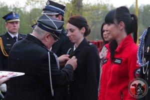 """Medale """"Za Zasługi dla Pożarnictwa"""" w GPR OSP Wołczkowo"""