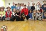 Wizyta ratowników GPR OSP Wołczkowo w przedszkolu nr 27 w Szczecinie