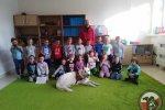 """Projekt """"Pies przyjaciel dziecka"""" w Szkole Podstawowej nr 2 w Szczecinie."""