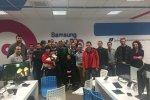 Zachodniopomorskie Psy Ratownicze gościnnie w Samsung LABO