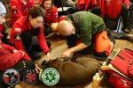 Szkolenie w zakresie pomocy przedweterynaryjnej dla grupy Zachodniopomorskie Psy Ratownicze OSP Wołczkowo