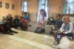 Zajęcia z dziećmi na półkolonii survivalowej w Ośrodku Szkoleniowo - Badawczym w Zakresie Energii Odnawialnej w Ostoji