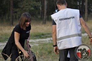 Egzaminy Żagań 2014 - Zdany egzamin Małgorzata Kosek i Lara