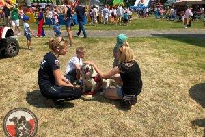 Festyn z okazji dnia dziecka w gminie Dobra.