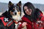 Egzaminy psów ratowniczych Nowy Sącz, listopad 2016