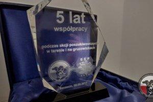 5 lat współpracy z OSP Gryf w Szczecinie.