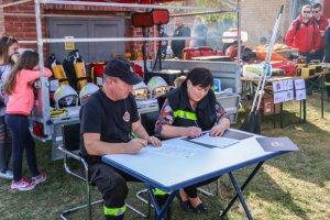 Strażacy z gminy Dobra mają nowy sprzęt.