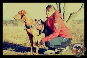 Egzaminy psów ratowniczych Nowy Sącz 2016