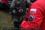 Szkolenie z GOPR, Leśno Górne 11-13.12.15