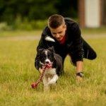 Nika i Beast na treningu
