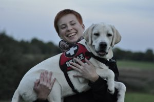 Kandydaci na przewodnika i psa ratowniczego