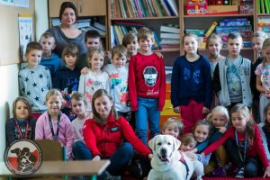 Projekt Pies Przyjaciel Dziecka w Publicznej Szkole Podstawowej w Bezrzeczu