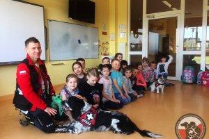 Odwiedziny w Publicznej Szkole Podstawowej w Mierzynie.