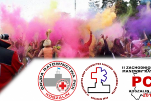 II Zachodniopomorskie Manewry Ratownictwa PCK Koszalin-Mielno 2019