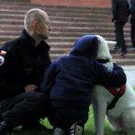 Pies przyjaciel dziecka