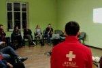 Szkolenie medyczne z Bartkiem Mazgowskim z OSP Gryf w Szczecinie.