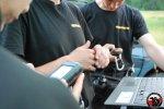 Zgrupowanie szkoleniowe dla przewodników psów Sekcji OSP Wołczkowo - praca w terenie