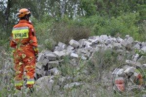 Egzaminy psów ratowniczych Żagań 2015 - kolejne 10 licencji dla OSP Wołczkowo